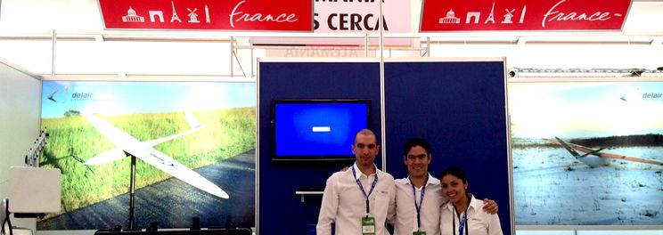 Delair-Tech UAVs exhibition in mexico