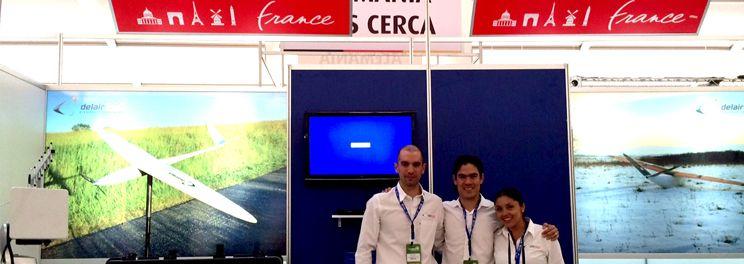 Delair-Tech UAVs exhibition in mexico