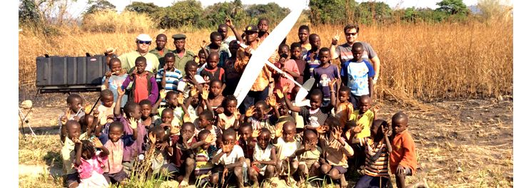 Africa Delair-Tech mission with UAV