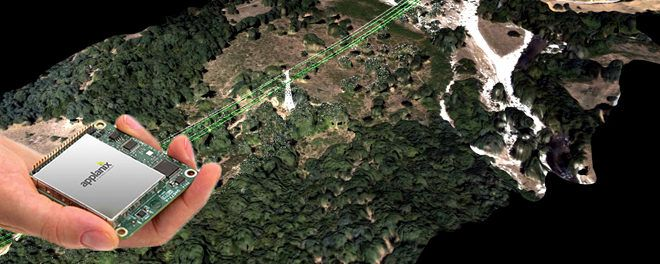 The applanix technology in UAVs to better the precision