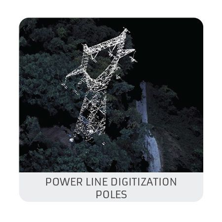Power Line digitization – Level1 : Poles (photogrammetry)