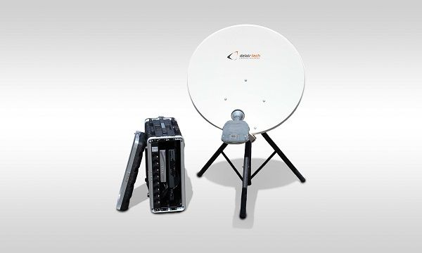 Sat Bear is video streaming through satellite for UAVs