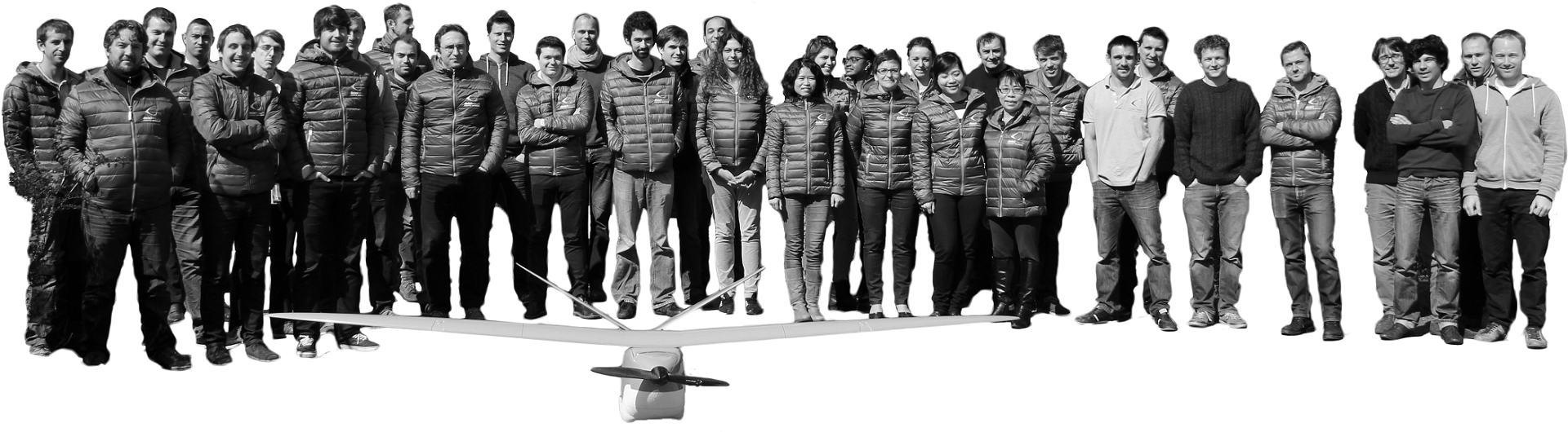 Delair-Tech long range UAV employees
