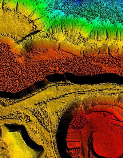 Delair-tech DSM map from UAV acquisition