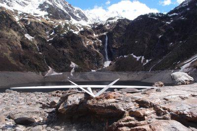 DT18 UAV Delair-Tech mountain
