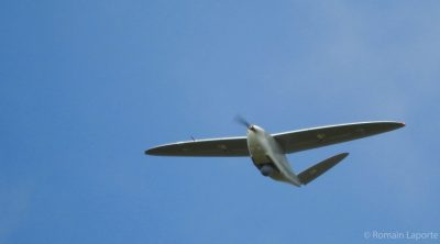 DT26M long range UAV flying for security and defense purpose