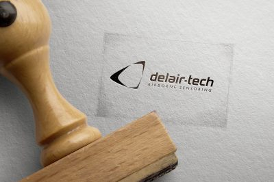 Delair-Tech stamp
