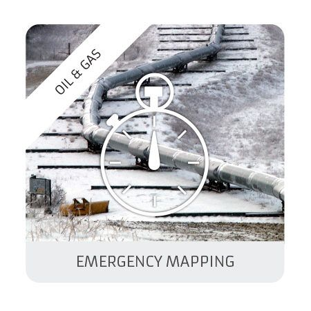 Emergency mapping (oil & gas)