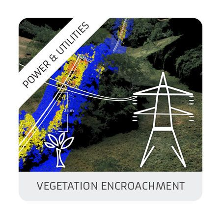 vegetation encroachment (powerlines)