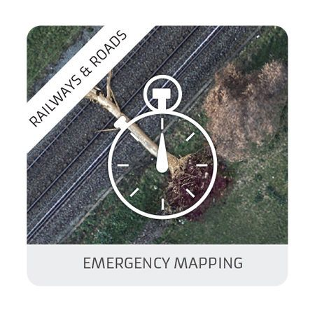 Emergency mapping (railways & roads)