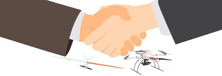 DELAIR-TECH AND MICRODRONES SIGN PARTNERSHIP AGREEMENT