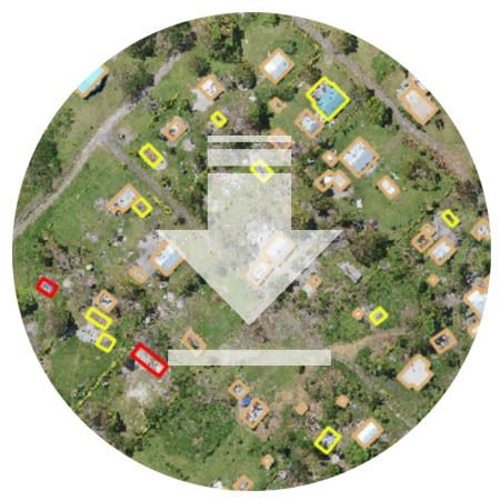 Emergency mapping long range drone use case