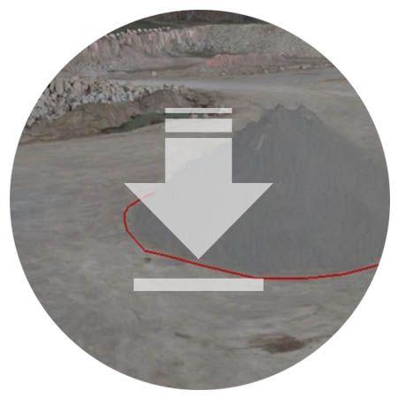 Mines drones Volumetric calculation UAVs