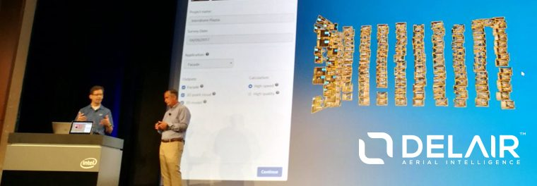 Delair and Intel are partners for a new platform
