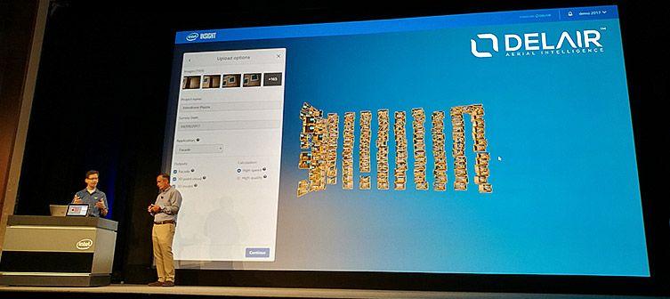 Intel chooses Delair as a strategic partner to develop their new aerial data analytics platform: Intel Insight.