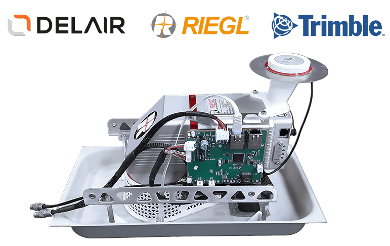 LiDAR drone: Delair DT26X LiDAR, twice the data in half the time