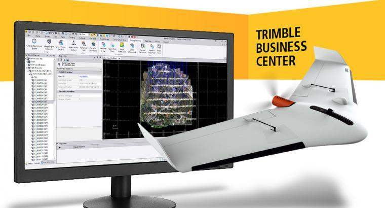 Delair and Trimble cooperate to support high-precision PPK drone data from Delair UX11 in Trimble Business Center v5.0
