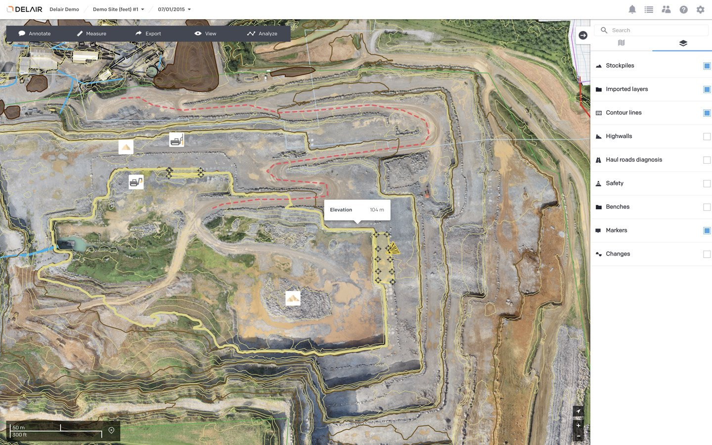 Aerial Data Solutions for Mines and Quarries