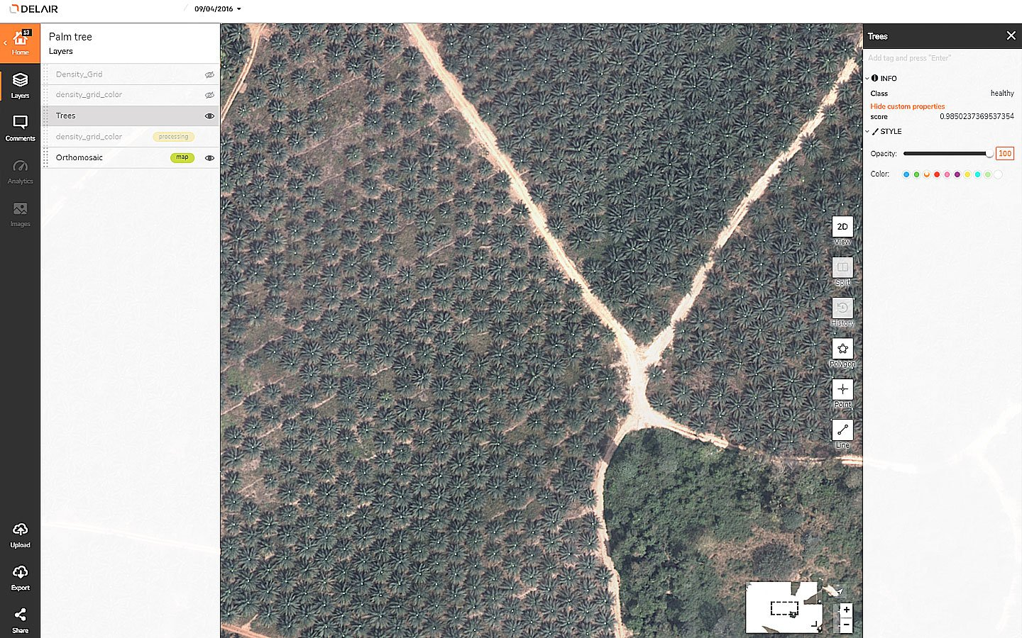Aerial Data Solutions for Agriculture