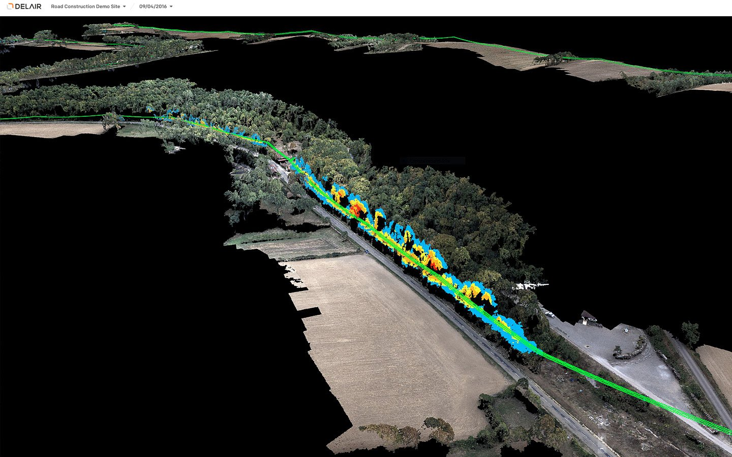 Aerial Data Solutions for Power and Utilities