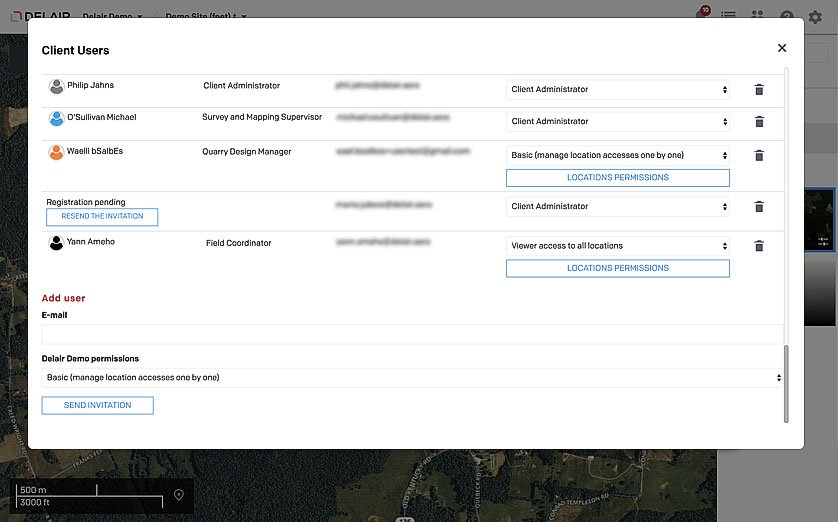 Aerial Data Solutions Platform