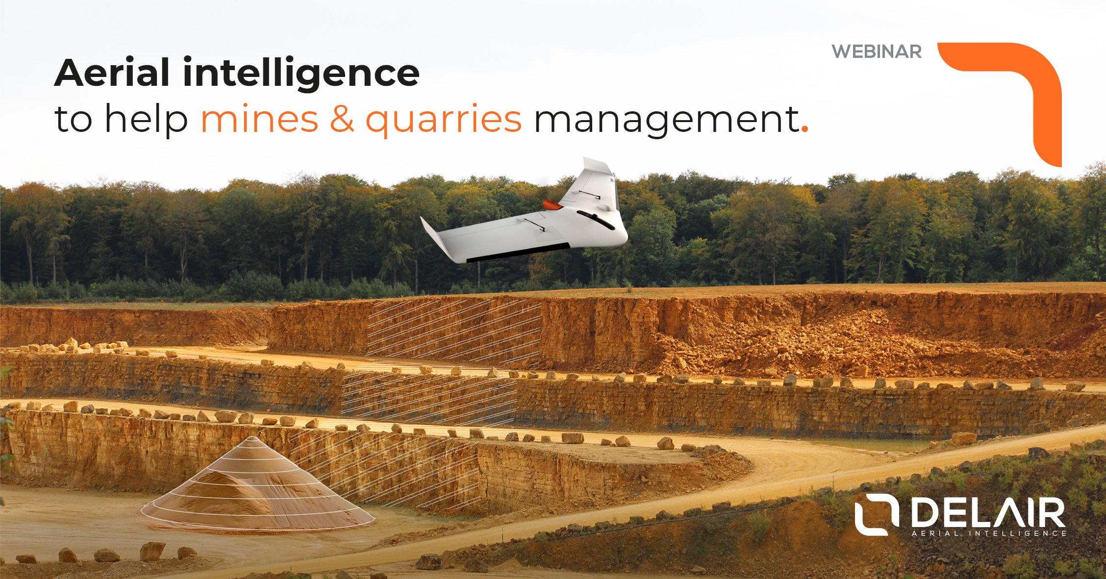 Webinar Aerial intelligence to help mines and quarries management