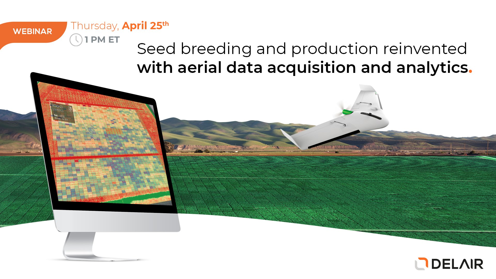 Boost your productivity by mapping large sites with a fixed-wing drone - Webinar with Seilier Instrument in Midwest