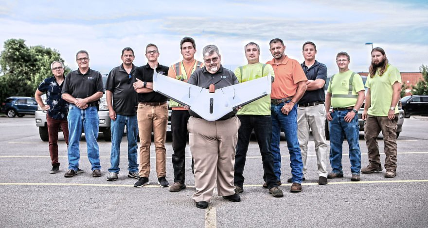 Weaver Consultants Group moves to Delair UX11 UAV for better portability, integration & efficiency in large scale aerial-based topographic mapping