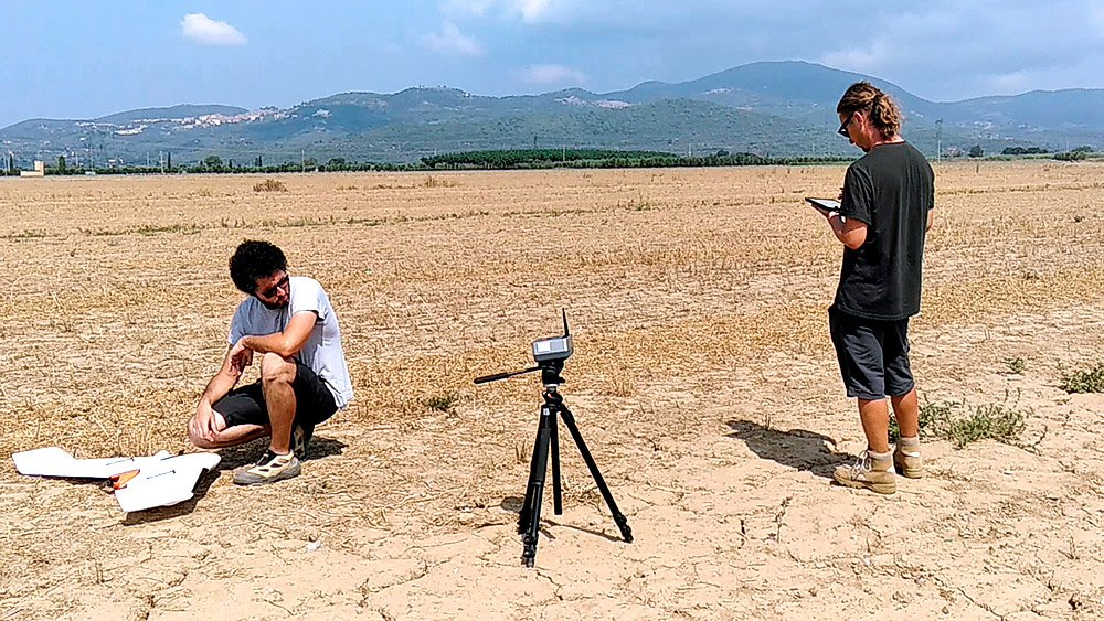 archaeological surveys drone
