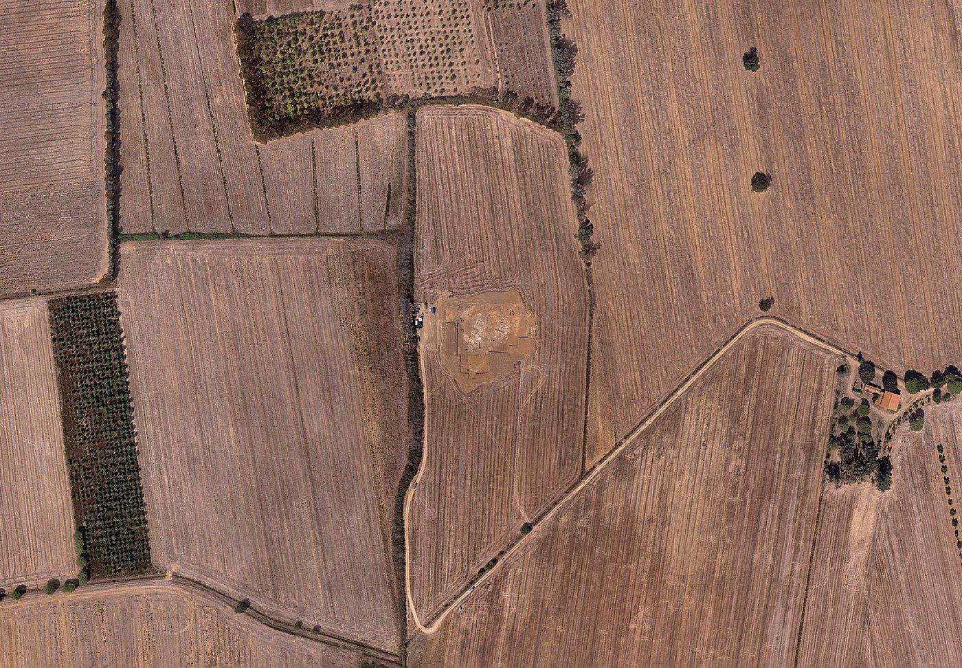 archaeological surveys drone UX11