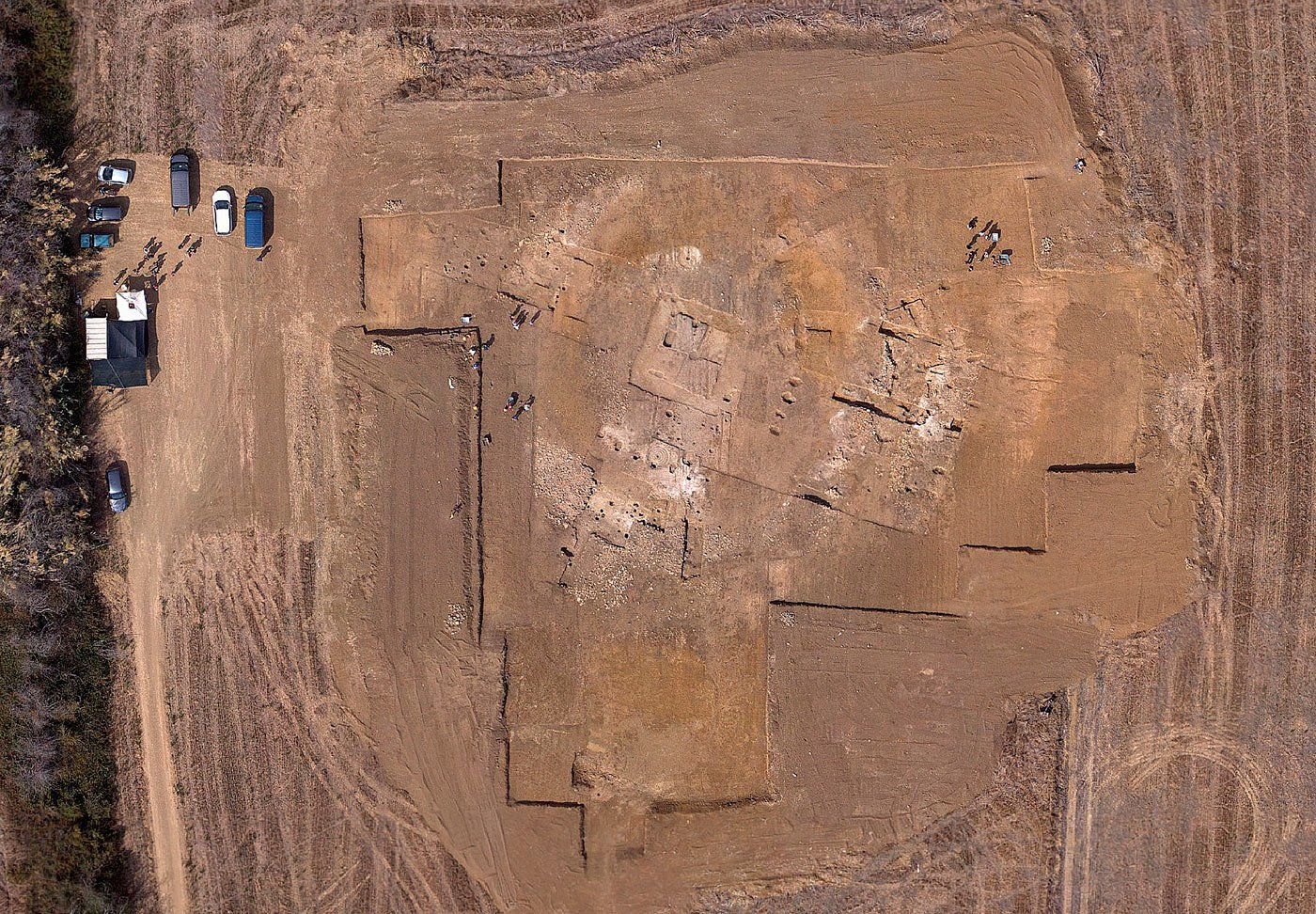 archaeological surveys drone Delair