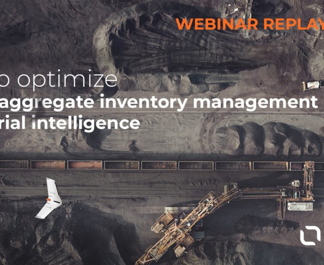 Optimize mine and aggregates management with drones and aerial intelligence