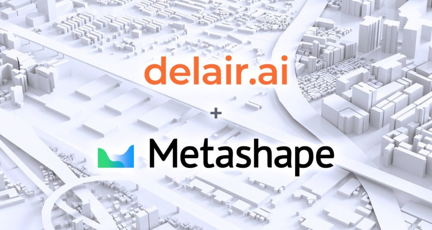 Agisoft's Metashape is now available in delair.ai for photogrammetry processing