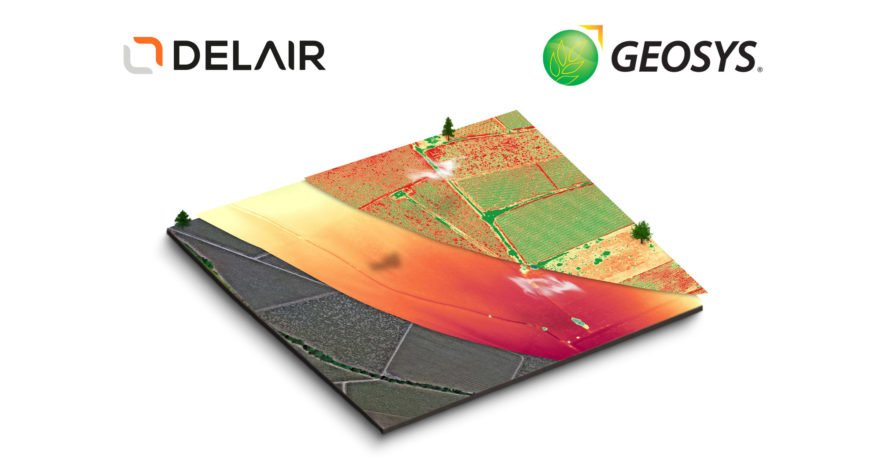 Delair, Geosys announce strategic partnership to bring enhanced offerings to precision agriculture