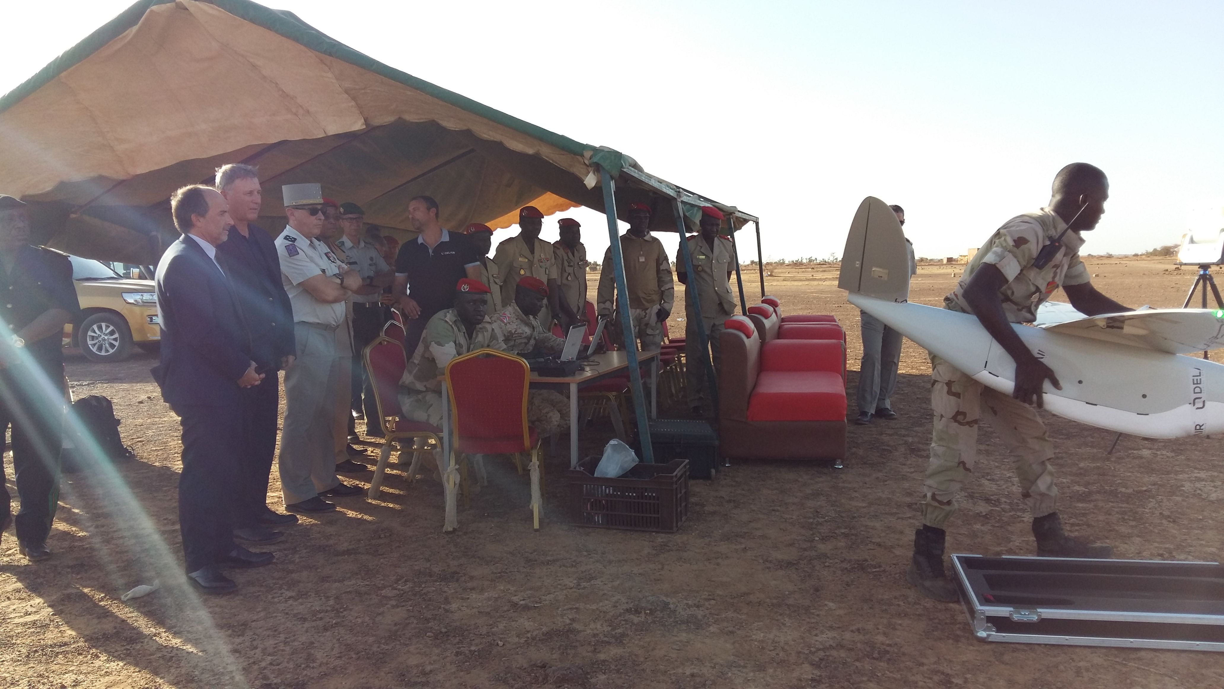 DT26X Surveillance long range surveillance drones to better address counter terrorism in Niger
